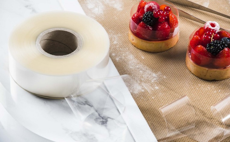 Rhodoid - pastry tape H 4.5 cm