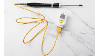 Thermomètre électronique à thermocouple