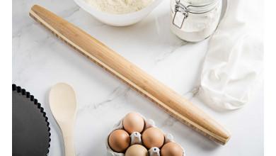 Rouleau à pâte en hètre