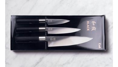 Kai Wasabi set de 3 couteaux