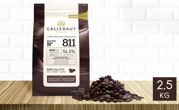 Chocolat noir Ecuador 70% pistoles 2,5 kg