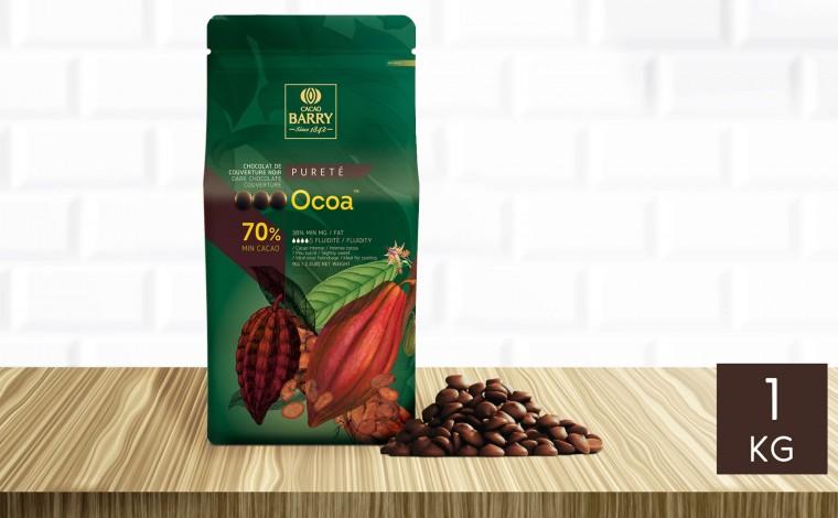 Chocolat noir Ocoa 70% pistoles 1 kg
