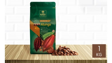 Chocolat au lait Alunga 41% pistoles 1 kg