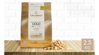 Chocolat Gold 30,4 % pistoles - sachet 2,5 kg
