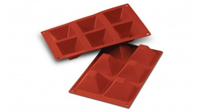 Moule silicone 6 pyramides