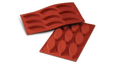 Moule silicone 16 petits fours ovales