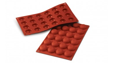 Moule silicone 15 petits fours ronds