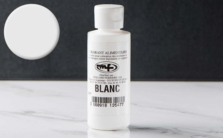 Colorant alimentaire liquide Blanc 100ml