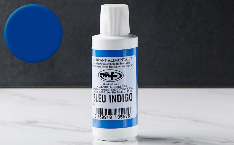 Colorant alimentaire liquide Bleu indigo 100ml
