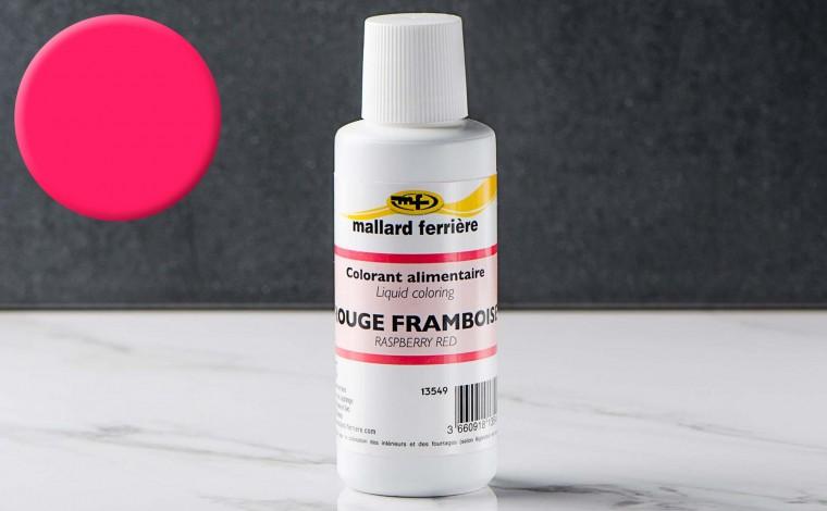 Colorant alimentaire liquide Rouge Framboise 100ml