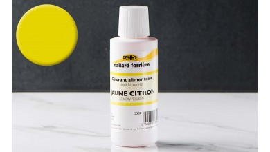 Colorant alimentaire liquide Jaune citron 100ml