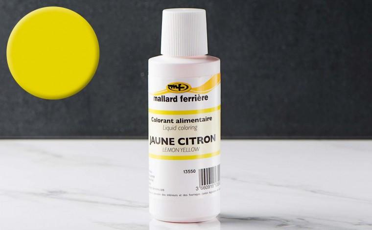 Colorant alimentaire liquide Jaune citron 100ml