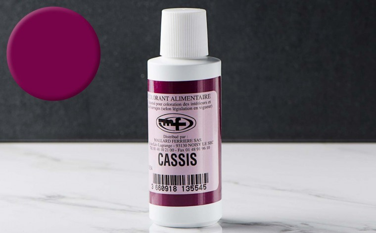 Colorant alimentaire liquide Cassis 100ml