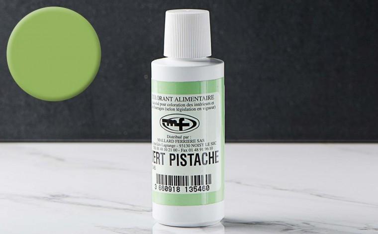 Colorant alimentaire liquide Vert Pistache 100ml