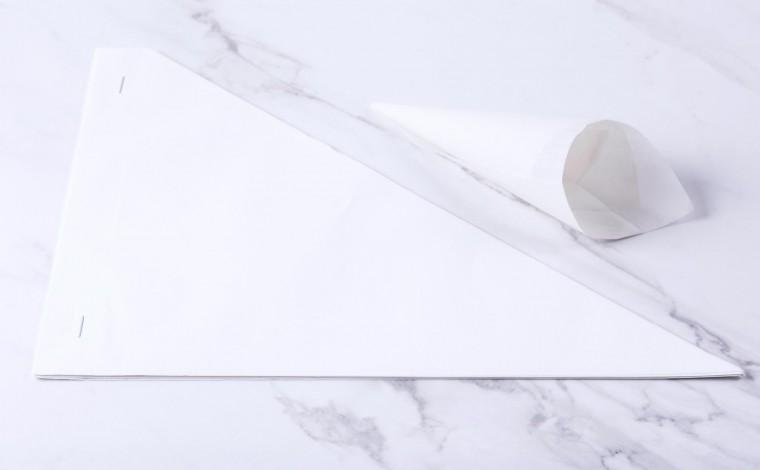 Cornet pâtisserie pour décoration (25x)