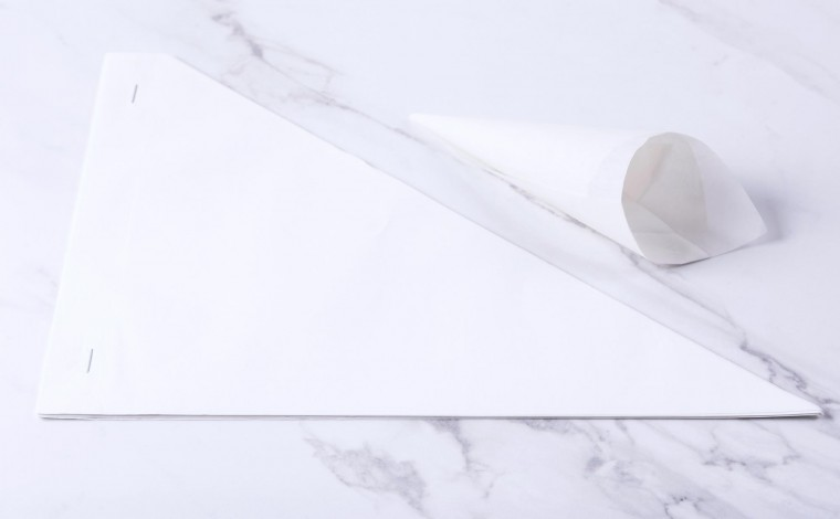Cornet pastry for decoration (25x)