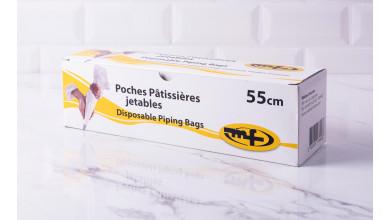 Poche pâtissière jetable 30 x 55 cm 100 pièces
