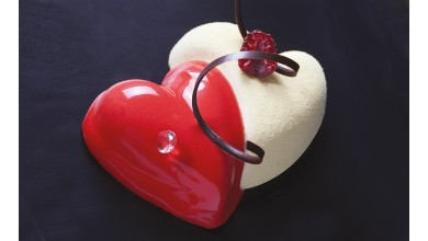 Coeurs entrelacés Flexipan - Moule silicone