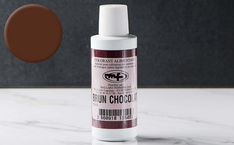 Colorant alimentaire liquide Brun Chocolat 100ml