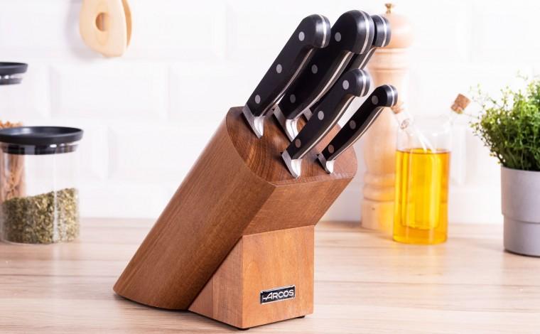Bloc à couteaux (5 couteaux)