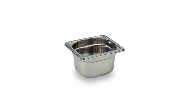 STAINLESS steel tray GN 1/6 - Height 20 cm