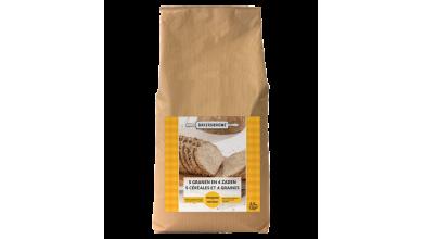Farine 5 Céréales et 4 Graines - Mélange Prêt à l'Emploi 2kg