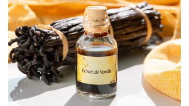 Gousse de vanille Bourbon Madagascar