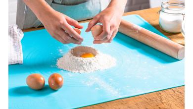 Tapis de pâtisserie en silicone antidérapant- 55x65 cm