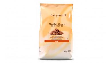 Chunks (pépites) Chocolat au lait