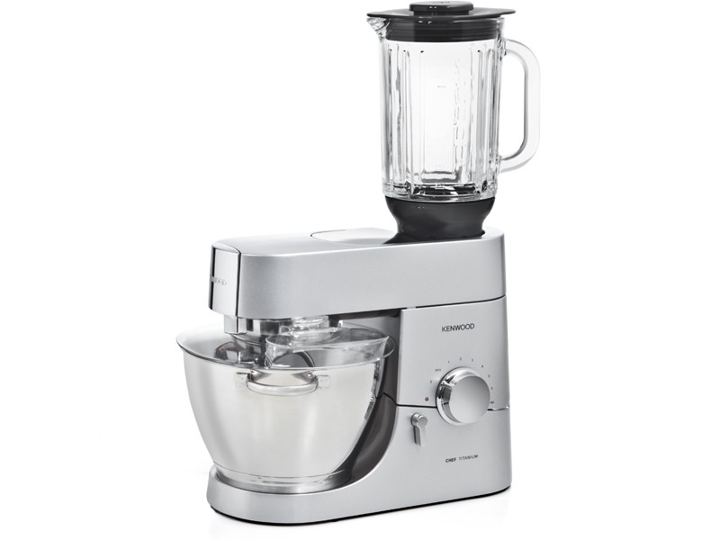 Blender en verre thermoresist at358 pour cooking chef for Robot kenwood cooking chef prix