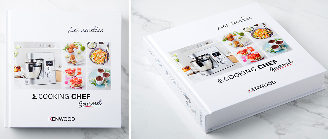livre de recette cooking chef gourmet