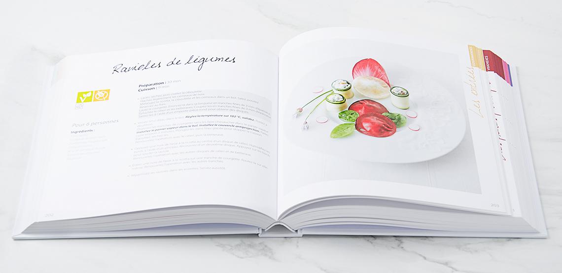 livre de recette cooking chef