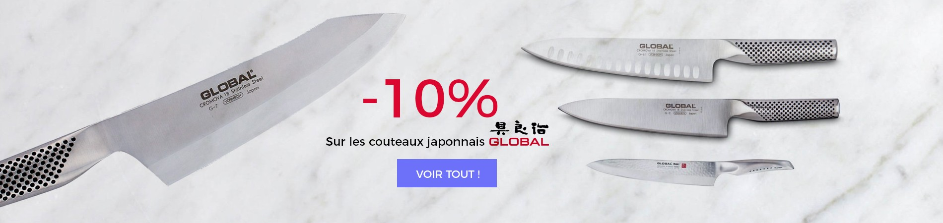Couteaux Global
